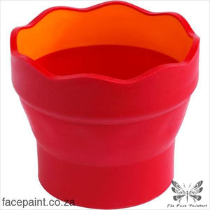 Faber-Castell Clic&go Collapsible Water Cup Brush Accessory