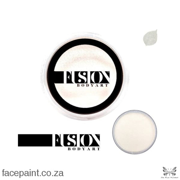 Fusion Face Paint Pearl Fairy White Paints