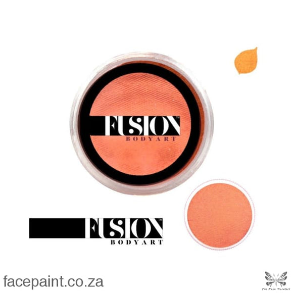 Fusion Face Paint Pearl Juicy Orange Paints