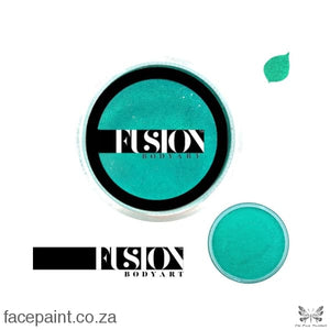 Fusion Face Paint Pearl Mermaid Green Paints