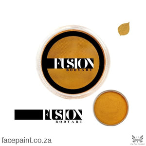 Fusion Face Paint Pearl Metallic Gold Paints