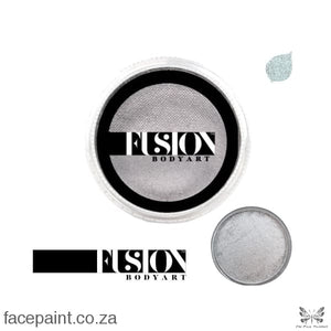 Fusion Face Paint Pearl Metallic Silver Paints