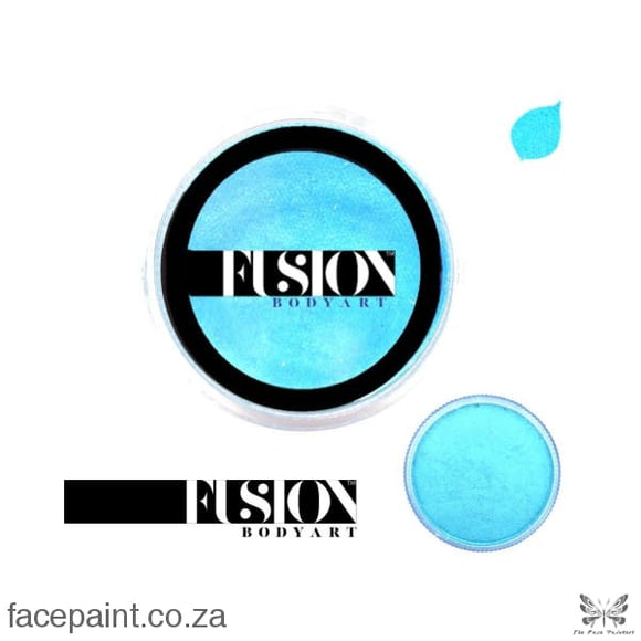 Fusion Face Paint Pearl Winter Blue Paints