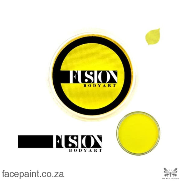 Fusion Face Paint Prime Bright Yellow Paints
