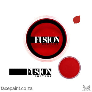 Fusion Face Paint Prime Cardinal Red Paints