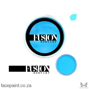Fusion Face Paint Prime Light Blue Paints