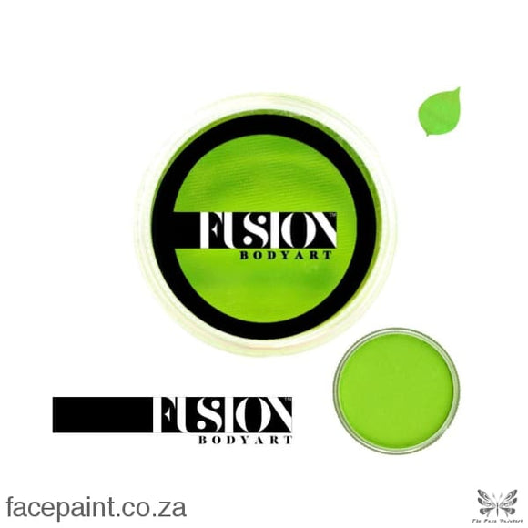 Fusion Face Paint Prime Lime Green Paints