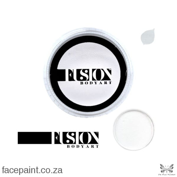 Fusion Face Paint Prime Paraffin White Paints