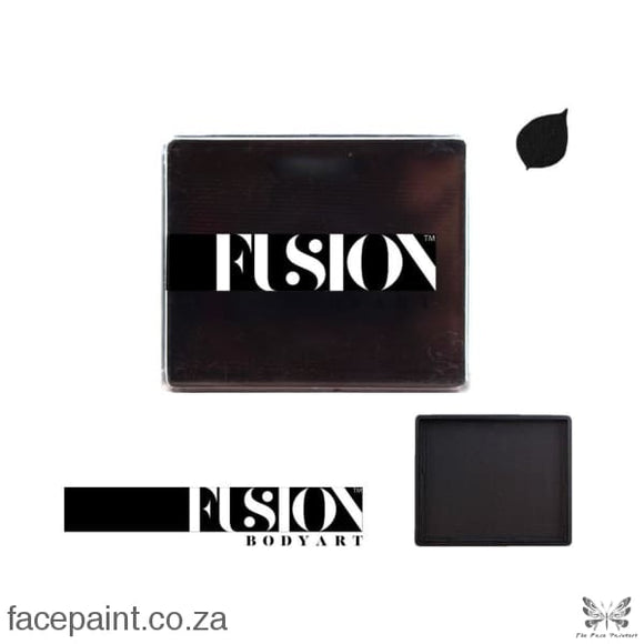Fusion Face Paint Prime Strong Black 50G Paints