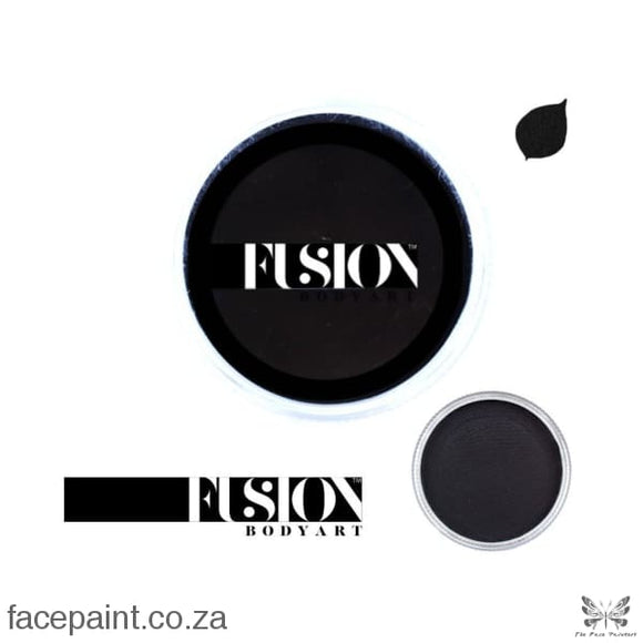Fusion Face Paint Prime Strong Black Paints