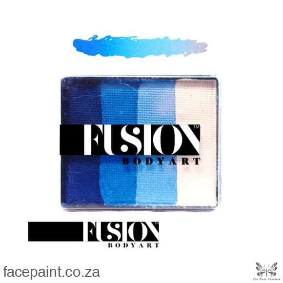 Fusion Face Paint Rainbow Cake Frozen Shimmer Paints