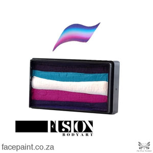 Fusion Face Paint Split Cake Leannes Collection Fancy Eyes Paints