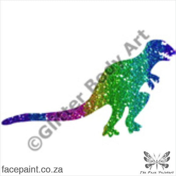 Glitter Tattoo Stencils - 010 Dinosaur Tattoos