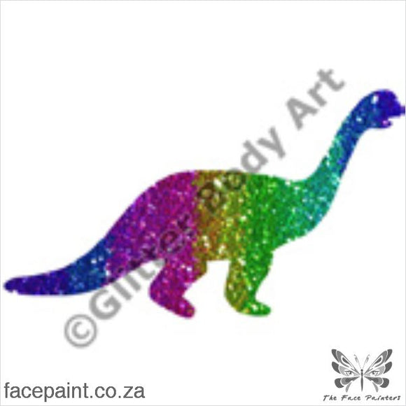 Glitter Tattoo Stencils - 011 Dinosaur Tattoos