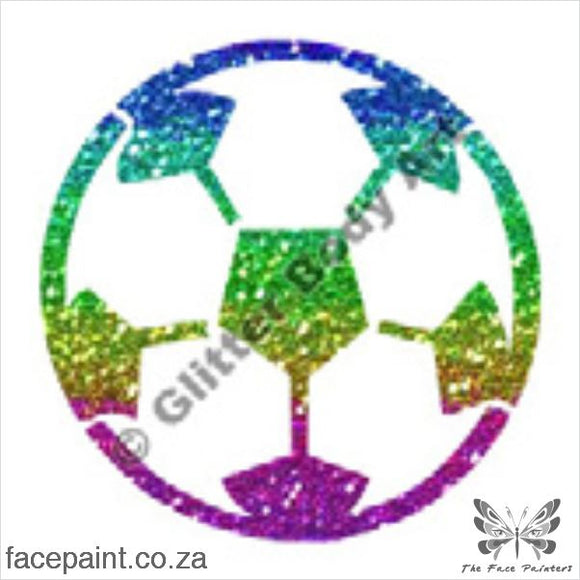 Glitter Tattoo Stencils - 059 Ball Tattoos