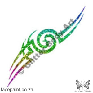 Glitter Tattoo Stencils - 069 Tribal Tattoos