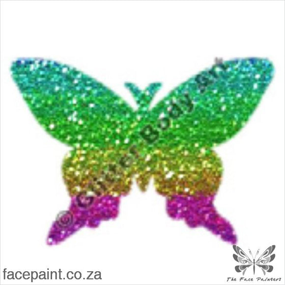 Glitter Tattoo Stencils - 079 Butterfly Tattoos