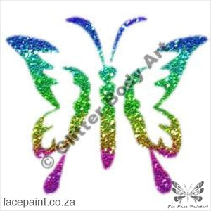 Glitter Tattoo Stencils - 082 Butterfly Tattoos