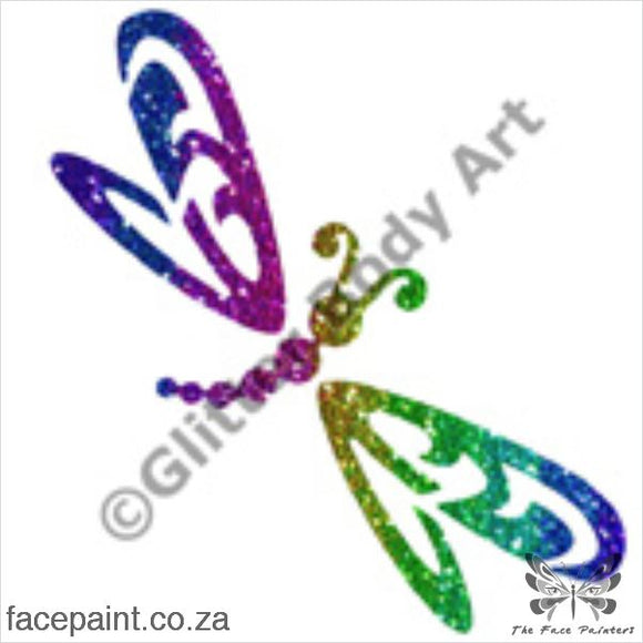 Glitter Tattoo Stencils - 085 Butterfly Tattoos
