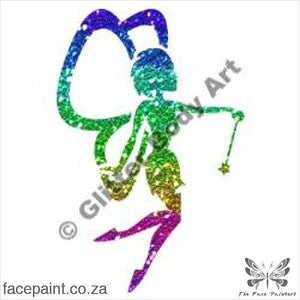 Glitter Tattoo Stencils - 130 Twinkle Fairy Tattoos