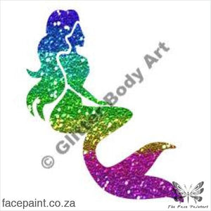 Glitter Tattoo Stencils - 134 Mermaid Tattoos