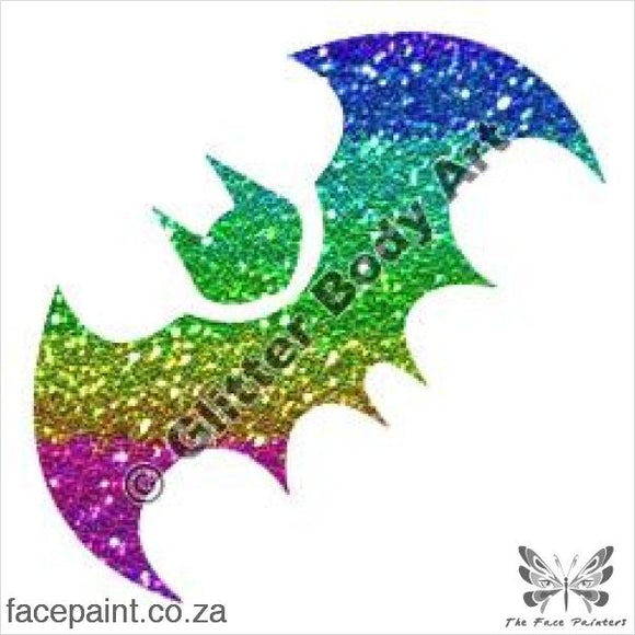 Glitter Tattoo Stencils - 207 Batman Tattoos