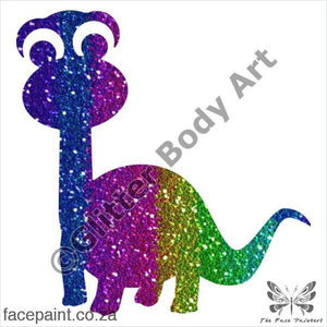 Glitter Tattoo Stencils - 382 Dippy Dinosaur Tattoos