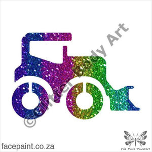 Glitter Tattoo Stencils - 405 Digger Tattoos