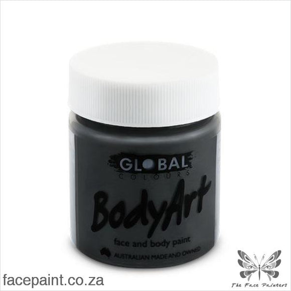 Global Face Paint Liquid Black Paints