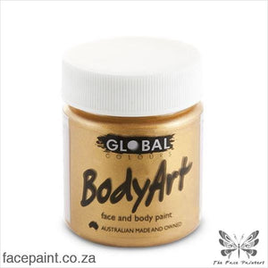 Global Face Paint Liquid Gold Paints