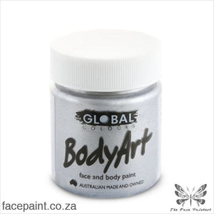 Global Face Paint Liquid Silver Paints