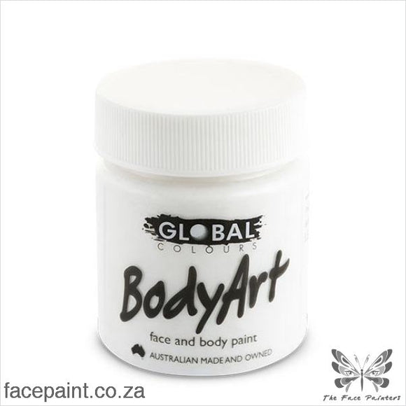 Global Face Paint Liquid White Paints