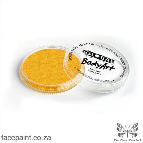 Global Face Paint Metallic Gold Paints