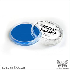 Global Face Paint Neon Blue Paints