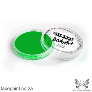 Global Face Paint Neon Green Paints