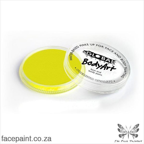 Global Face Paint Neon Yellow Paints