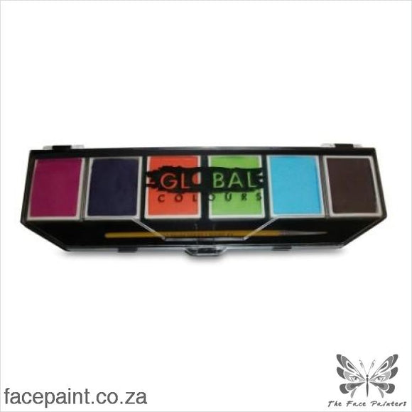 Global Face Paint Palette Caribbean Paints