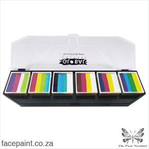 Global Face Paint Palette Colour Punch Paints