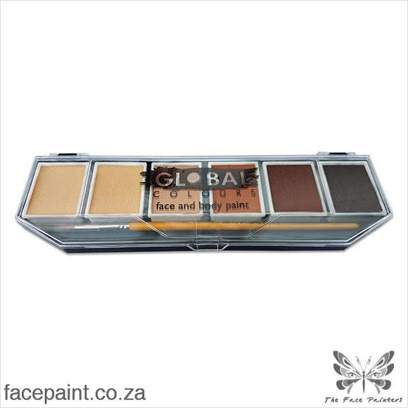 Global Face Paint Palette Skintone Paints