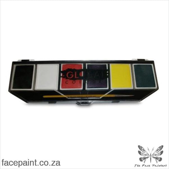Global Face Paint Palette Standard Paints