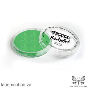 Global Face Paint Pearl Lime Green Paints
