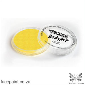 Global Face Paint Pearl Yellow Paints