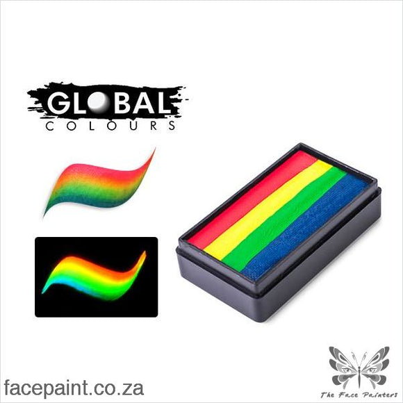 Global Face Paint Split Cake Fun Stroke Amsterdam Paints