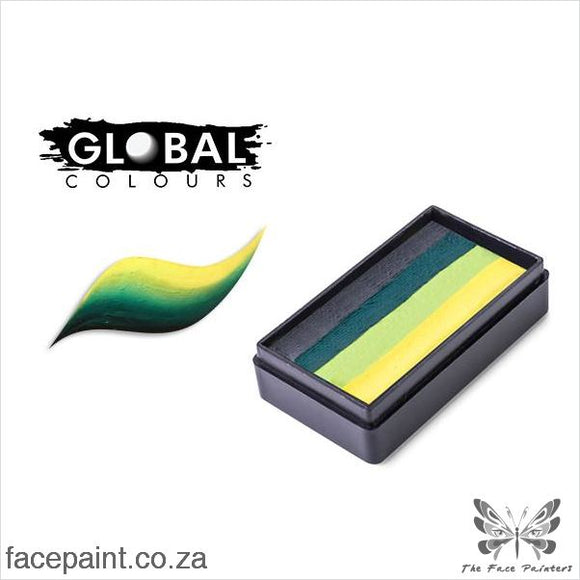 Global Face Paint Split Cake Fun Stroke Borneo Paints