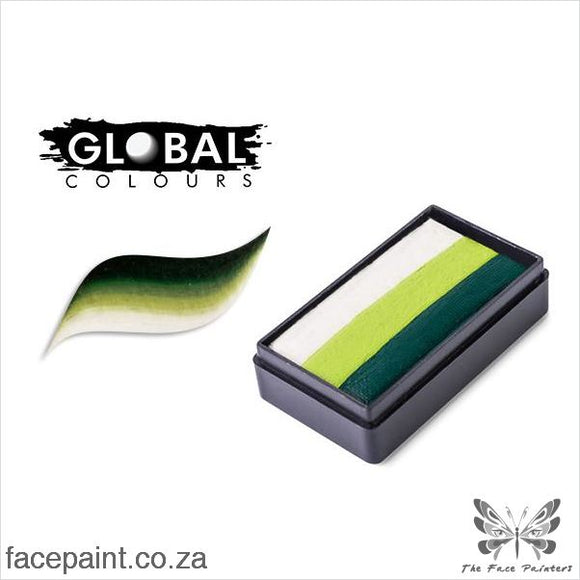 Global Face Paint Split Cake Fun Stroke Congo Paints