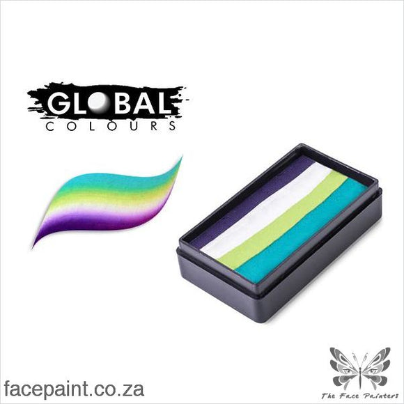 Global Face Paint Split Cake Fun Stroke Costa Rica Paints