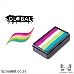 Global Face Paint Split Cake Fun Stroke Cuba Paints