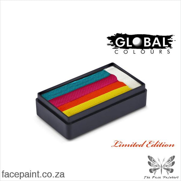 Global Face Paint Split Cake Fun Stroke Double Dip Sugar Rush Paints