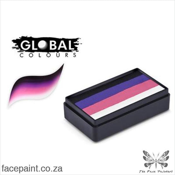 Global Face Paint Split Cake Fun Stroke Granada Paints