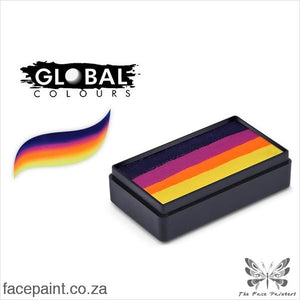 Global Face Paint Split Cake Fun Stroke Hobart Paints